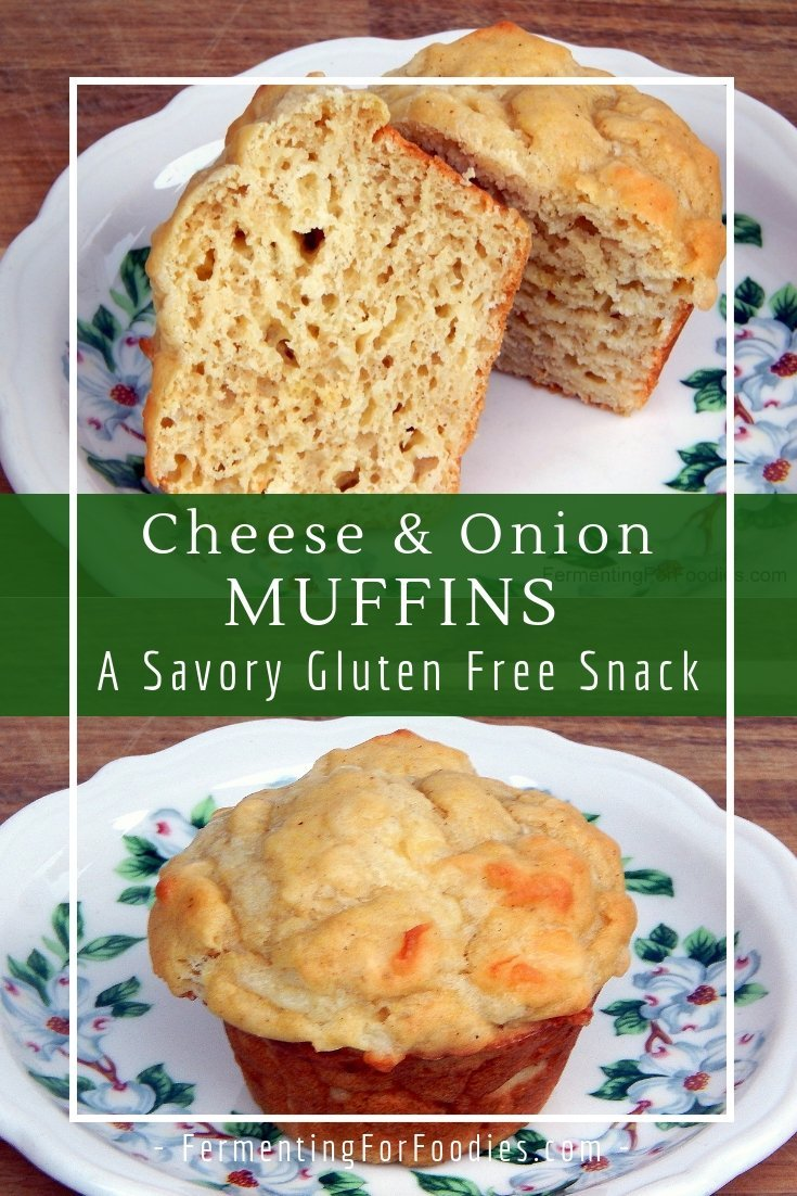 Gluten free buttermilk cheese muffins are a perfect sugar free snack.