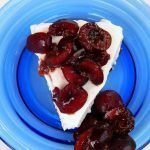 Healthy probiotic cheesecake is sugar free and gluten free
