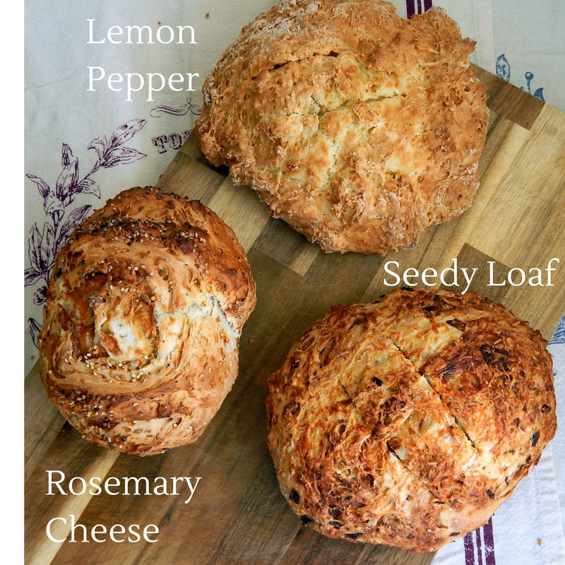 Traditional Irish Soda Bread -Fermented with buttermilk or kefir