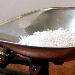 Homemade koji rice right before it starts to spore