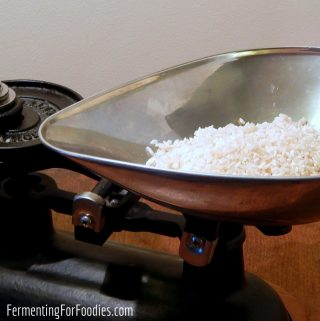How to make koji rice for sake and miso.