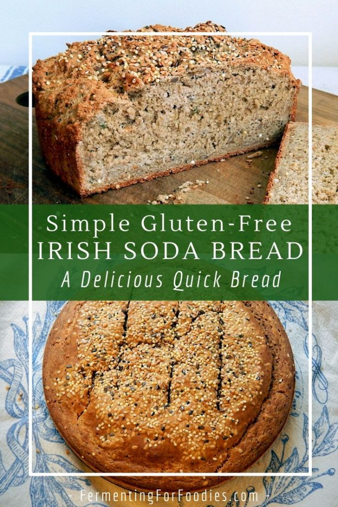Looking for a Gluten free bread recipe Try soda bread for a simple and delicious option