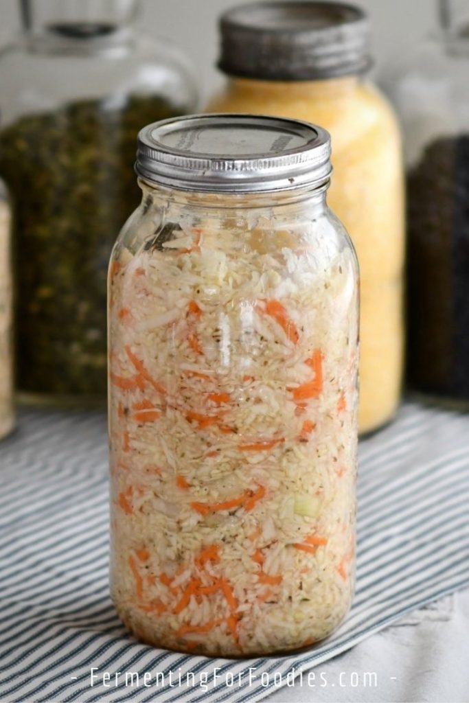 Have you been wondering what that trendy taco topping is - Salvadoran curtido is a condiment made from fermented cabbage