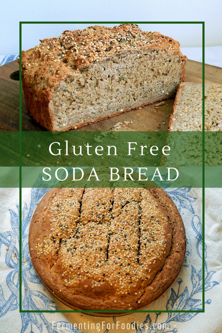 Gluten Free Soda Bread - a quick loaf with 4 different flavours