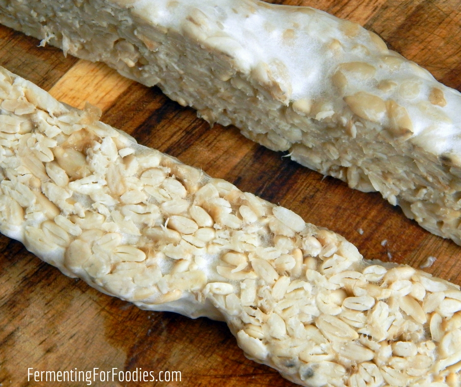 Sunflower seed tempeh - vegan, gluten free, delicious!