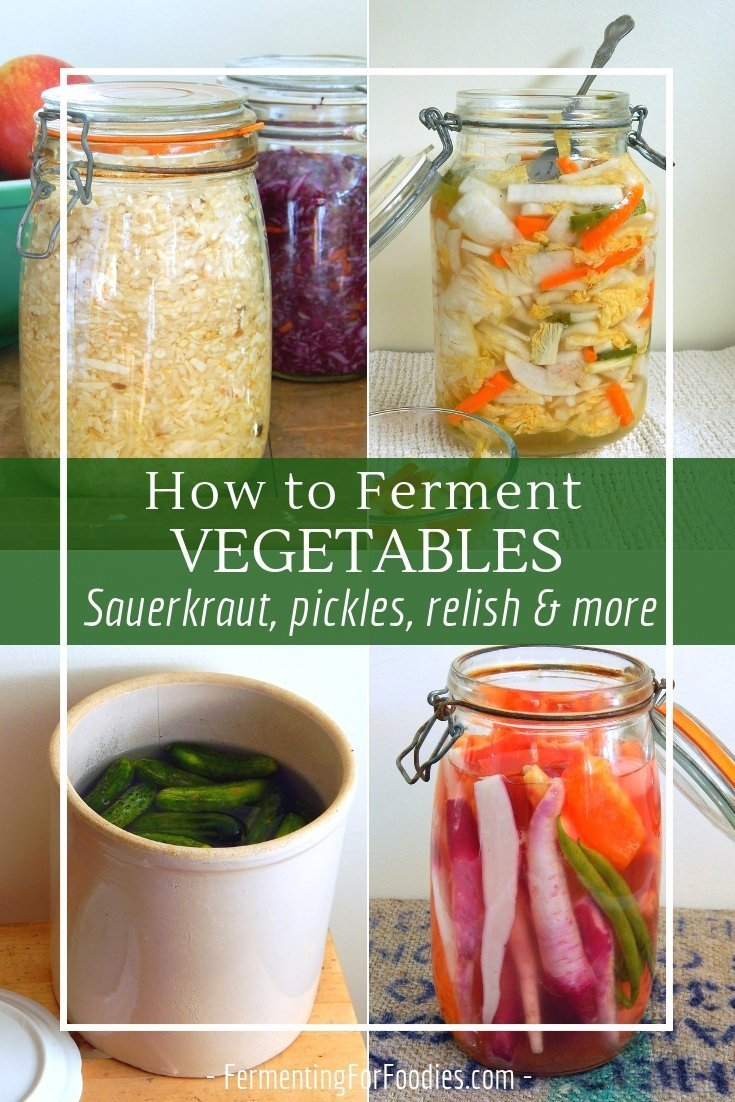 Everything you need to know about how to ferment vegetables.