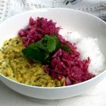 Simple vegan and gluten free mung bean curry