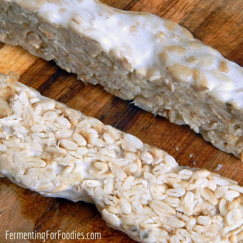 Sunflower seed tempeh is vegan, keto and soy free