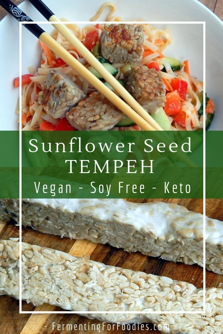 How to make nutty and delicious sunflower seed tempeh