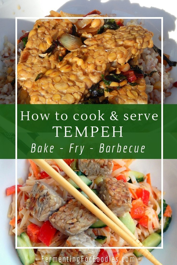 Learn how to cook tempeh, a delicious vegan protein