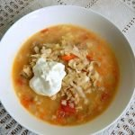German-inspired sauerkraut soup - perfect for a winter's day