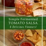 6 different flavours of fresh salsa and how to ferment them for flavour and health