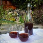 Step-by-step instructions for homemade plum wine.