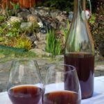 Homemade plum wine is earthy and delicious. Perfect when you have too much fruit!