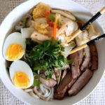 Kimchi noodle bowl is gluten-free, probiotic and delicious