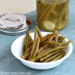 Simple fermented green bean pickles - perfect for beginners!