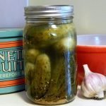 Storing fermented pickles is easy with this traditional recipe