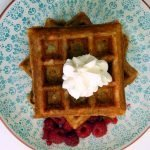 Fermented buttermilk waffles with eight different flavour options - savoury and sweet.