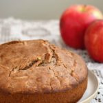 How to make a healthy apple cake with date caramel frosting