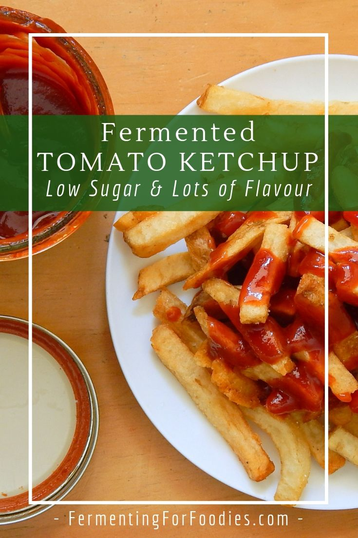 Homemade ketchup is full of flavour and low in sugar