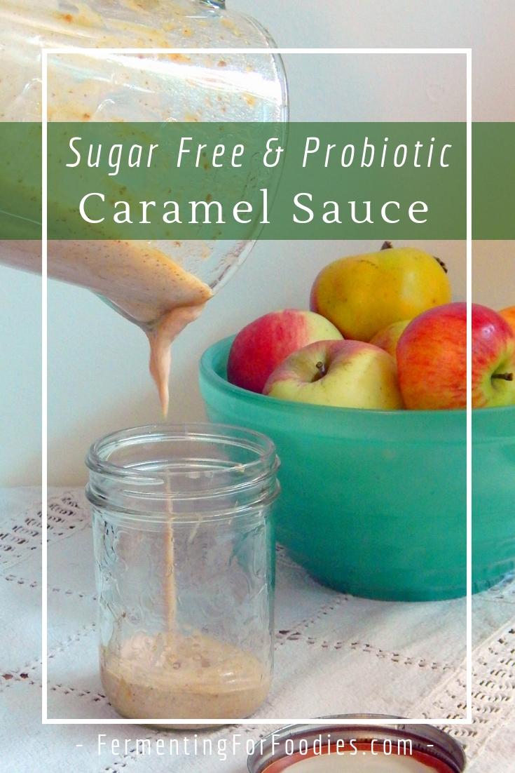 Healthy date caramel sauce - vegan, paleo, raw
