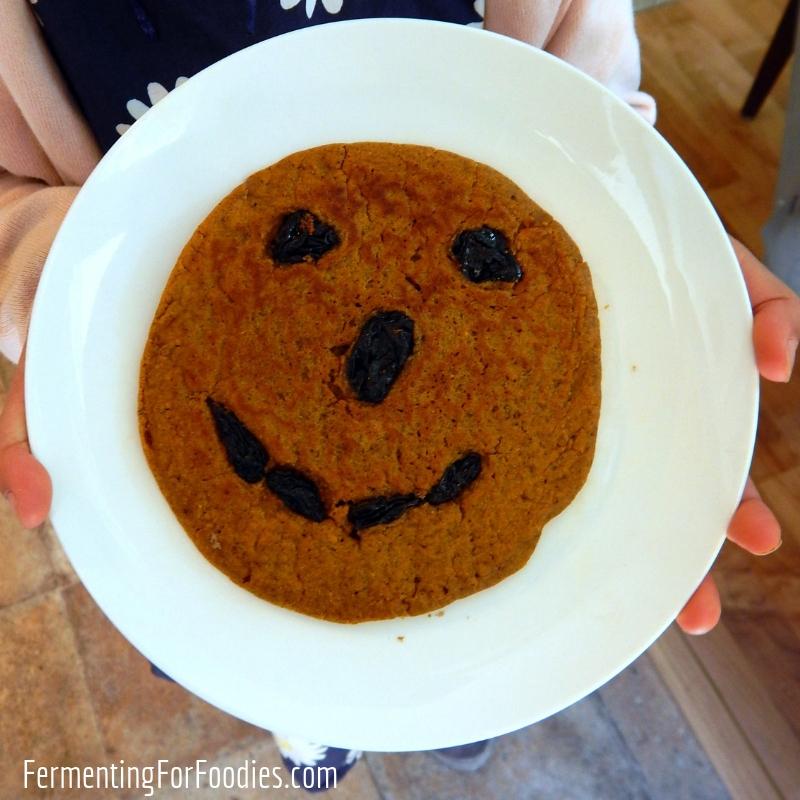 Healthy Pumpkin Pancakes - Buttermilk cultured, wholegrain and sugar-free