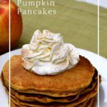Healthy oatmeal pumpkin pancakes are gluten free and sugar free