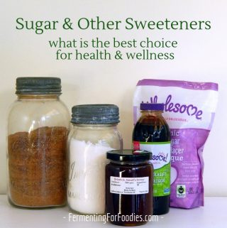 Learn about sugar and other types of sweeteners - how they impact your health and wellness