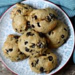 Gluten-free oatmeal chocolate chip cookies with cream cheese