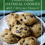 Healthy, sugar-free cream cheese oatmeal cookies