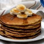 Soaked or fermented rye pancakes for a simple and delicious breakfast.