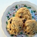 Gluten free cream cheese oatmeal cookies with 5 different flavour options