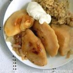 Homemade gluten free pierogi - using Baba's traditional recipe!
