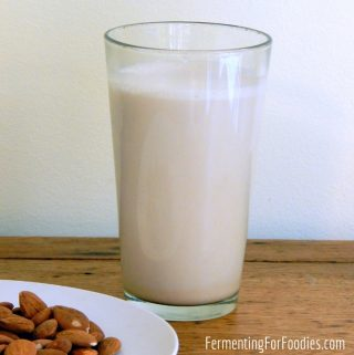 How to make almond milk - delicious, frothy and dairy-free