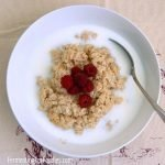 Traditionally prepared, fermented oatmeal for an easy to digest breakfast