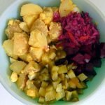 Quick, easy and healthy probiotic potato salad