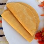 Lacto fermented corn tortillas are traditional and delicious