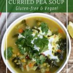 How to make a curried pea soup in a slow-cooker or instant pot