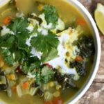 Slow-cooker curried pea soup or instant pot curried pea soup for a simple meal