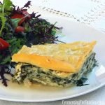 Quick and easy spanakopita with lasagna noodles