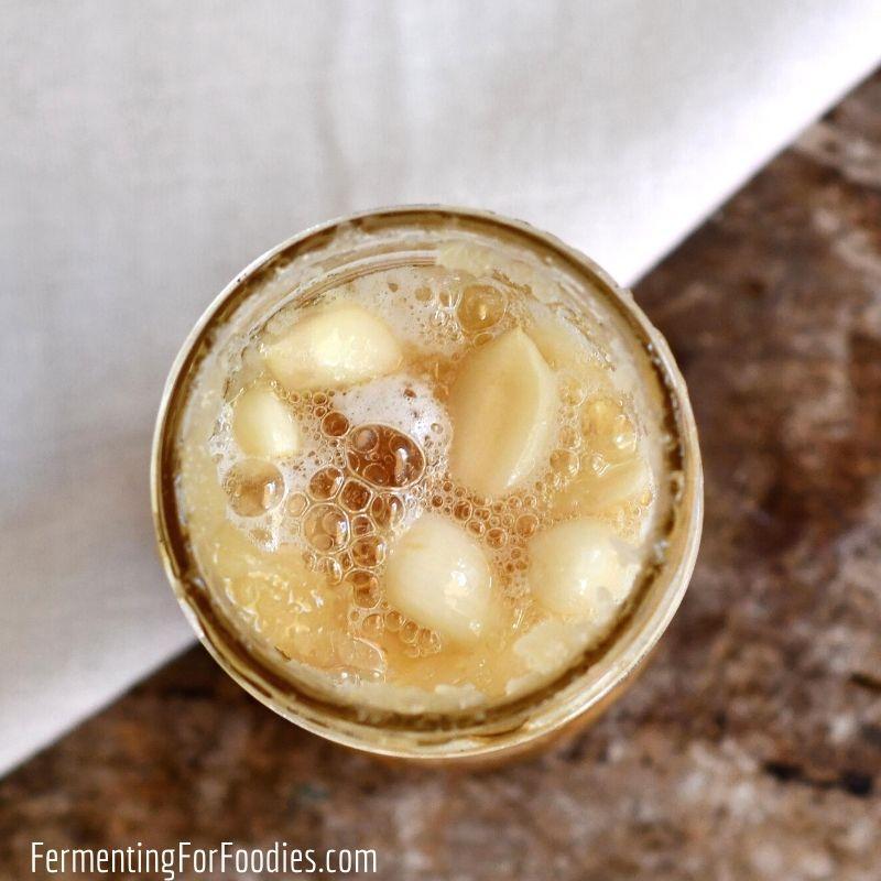 Why you should consider making honey fermented garlic