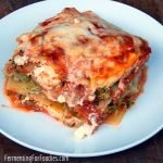Broccoli and cauliflower lasagna - gluten free, vegetarian