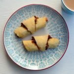 Gluten free apple walnut rugelah