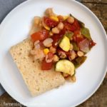 How to make millet polenta, a corn-free, gluten-free, and vegan dish.