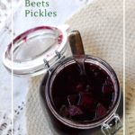 The EASIEST pickled beet recipe is done with fermentation!