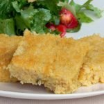 Firm millet polenta is perfect for frying. Gluten free, corn free, vegan and healthy