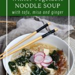 Quick and easy Japanese Noodle Soup is ready in less than 30 minutes