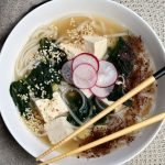 Japanese Noodle Soup A quick one-pot meal, perfect for busy weeknights.