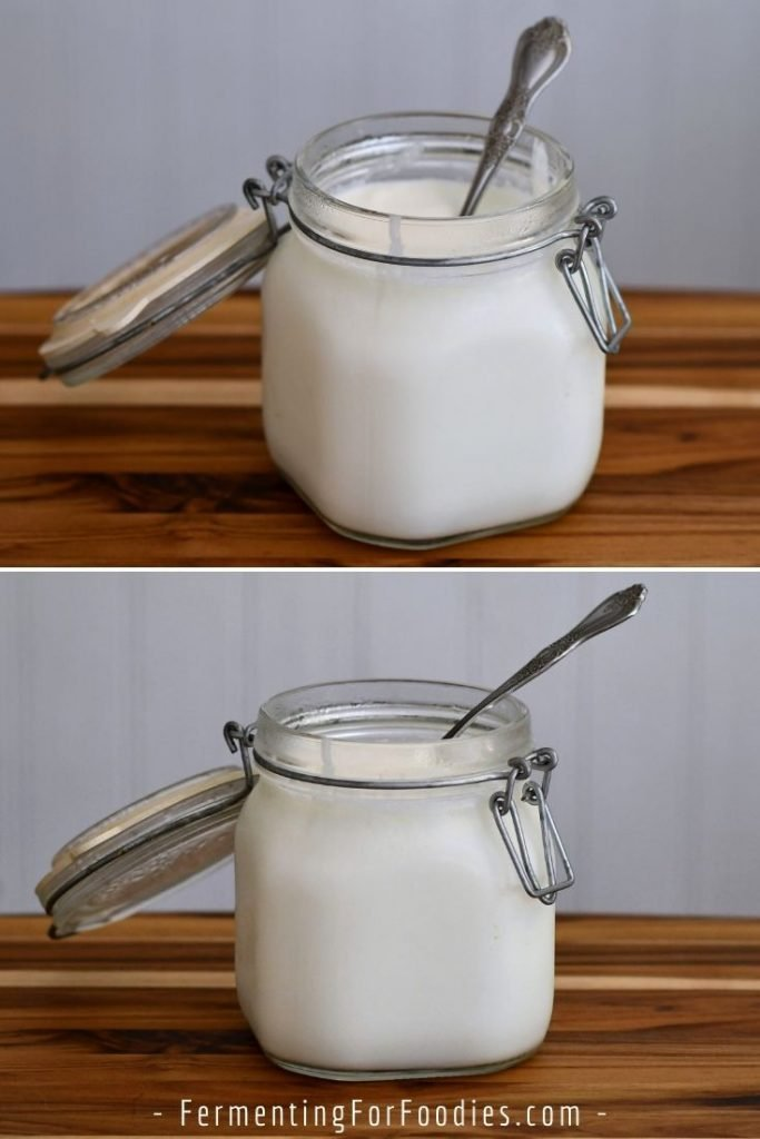 How heirloom yogurt is mesophilic yogurt and can be cultured on the kitchen counter