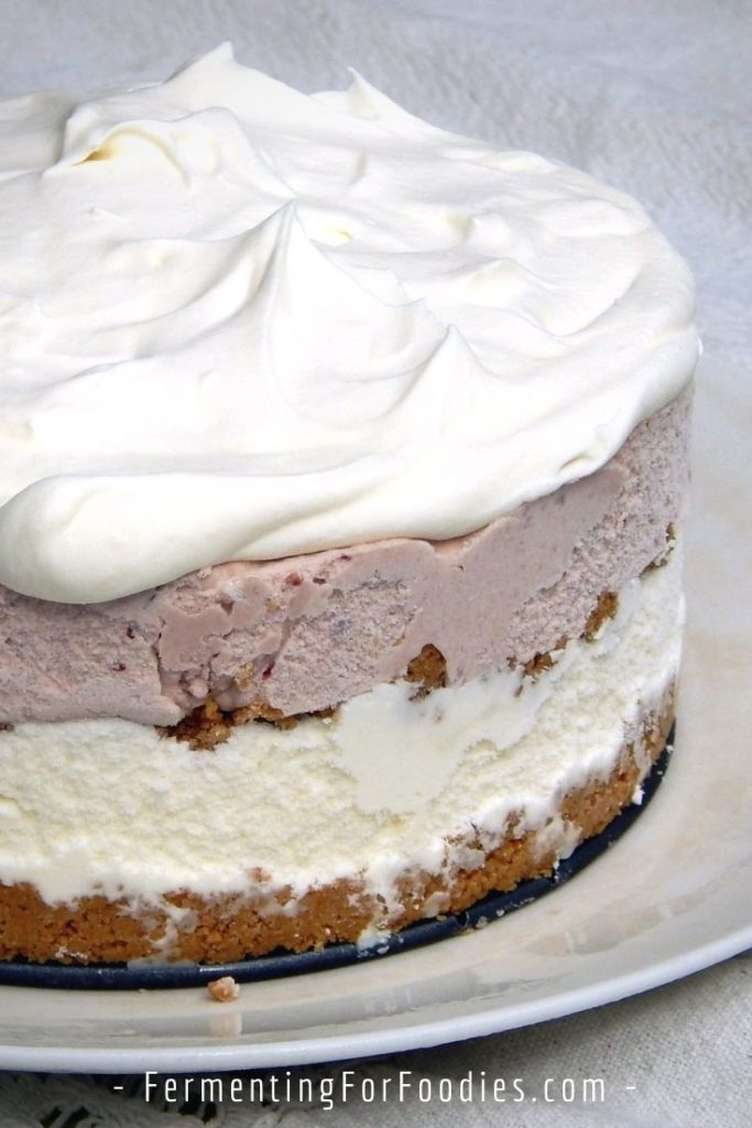 How to make a healthy ice cream cake with gluten-free, vegan and sugar-free options
